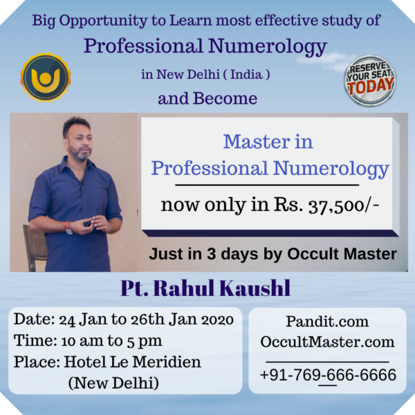 Master in Numerology