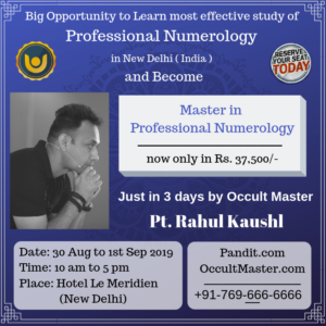 Master in Numerology | Occult Master Foundation