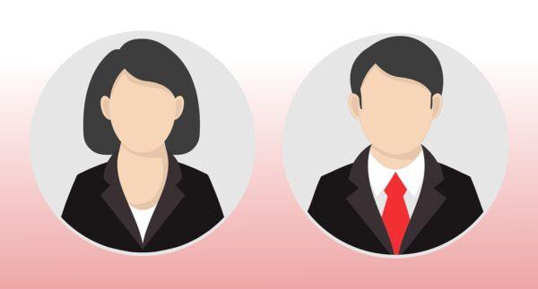 male, female, icon